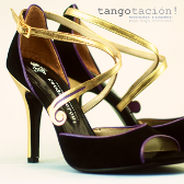 Evening shoes 'Firulete' by Tangotación!
