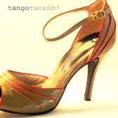 Eveningshoes Jenny 'olive' by Tangotación!