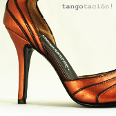 Jenny Bronze, eveningshoes by Tangotación!