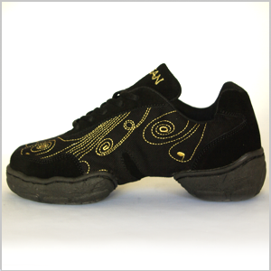 Dance-sneakers or practiceshoes for salsa, streetdance, latin & tango. Danceshoes, dance...